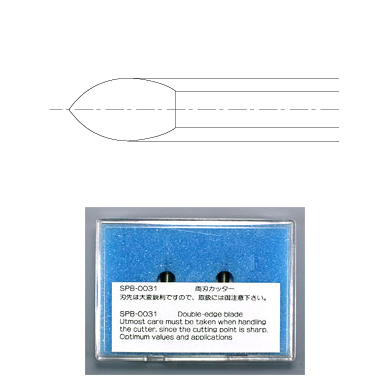 SPB-0031 Carbide both blades