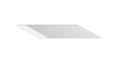 SPB-0043 High-speed steel blade 30°
