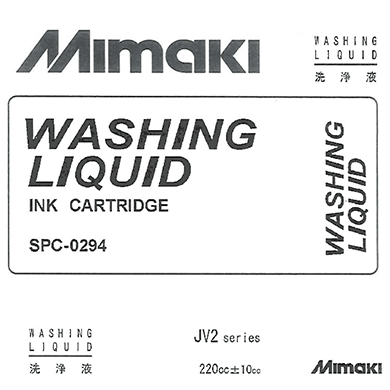 SPC-0294 MILD SOLVENT WASHING LIQUID cartridge