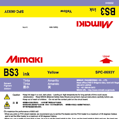SPC-0693Y BS3 Yellow