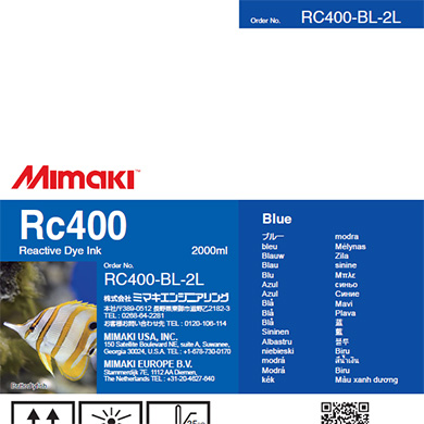 RC400-BL-2L Rc400 Blue