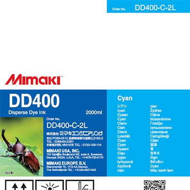 DD400-C-2L DD400 Cyan