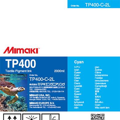 TP400-C-2L TP400 Cyan