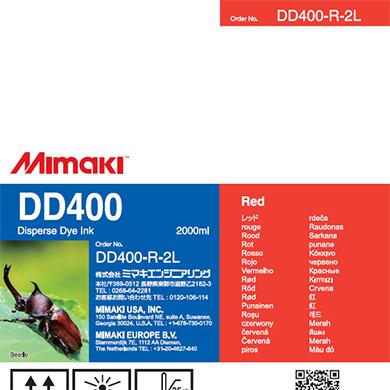 DD400-R-2L DD400 Red